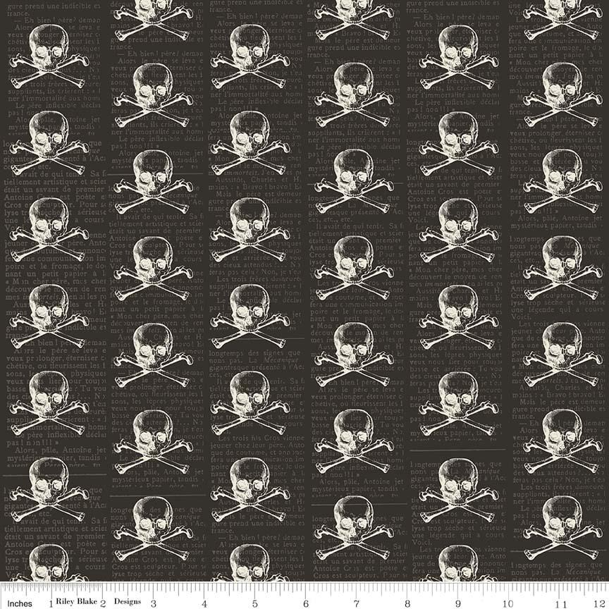 L&F Halloween Skull Black