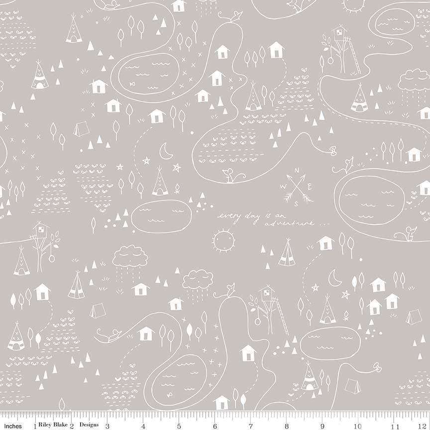 Adventure Map - Grey Greatest Adventure