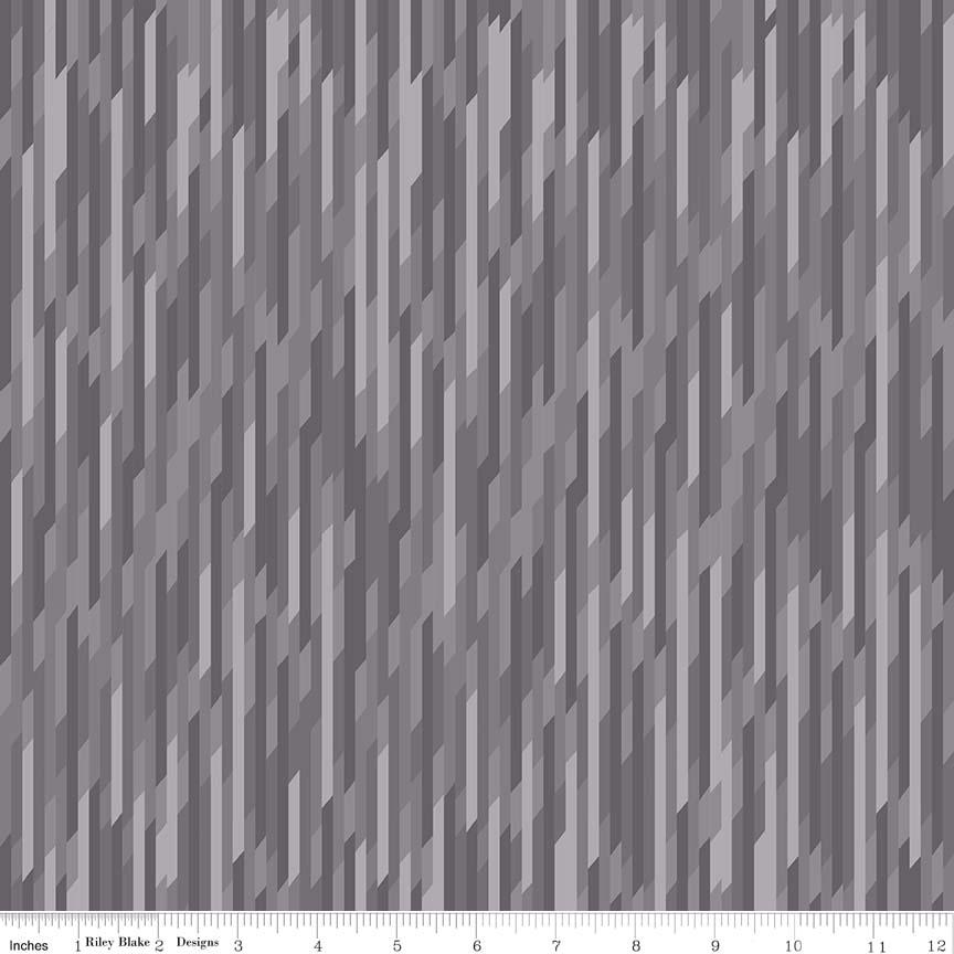 Desert Bloom Stripe Gray