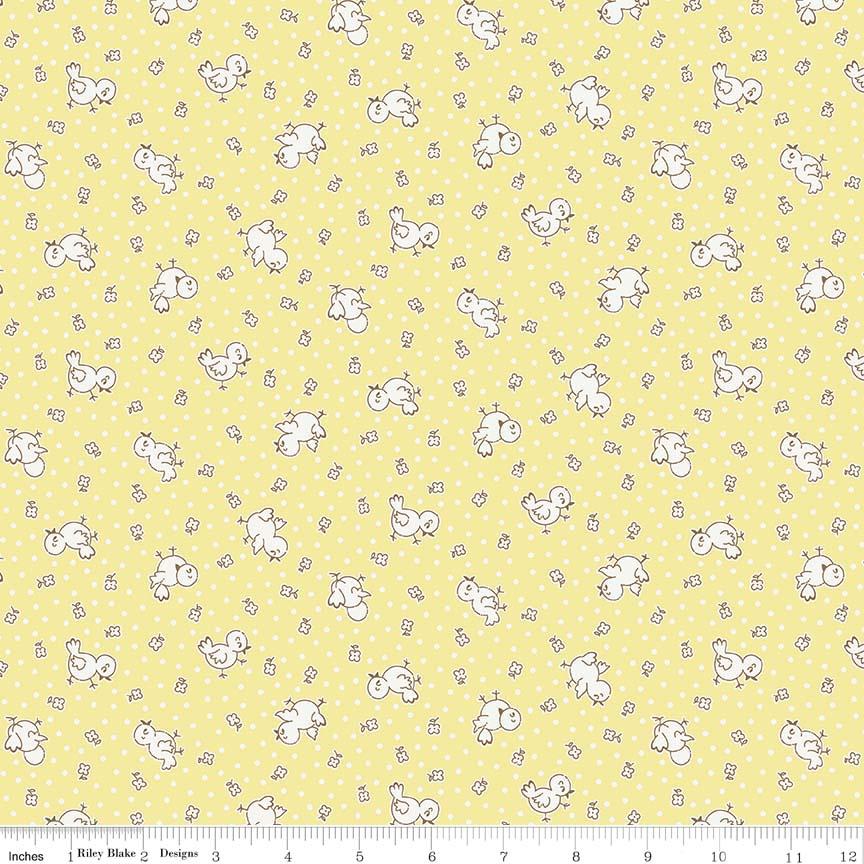 Apple Chickadee Yellow