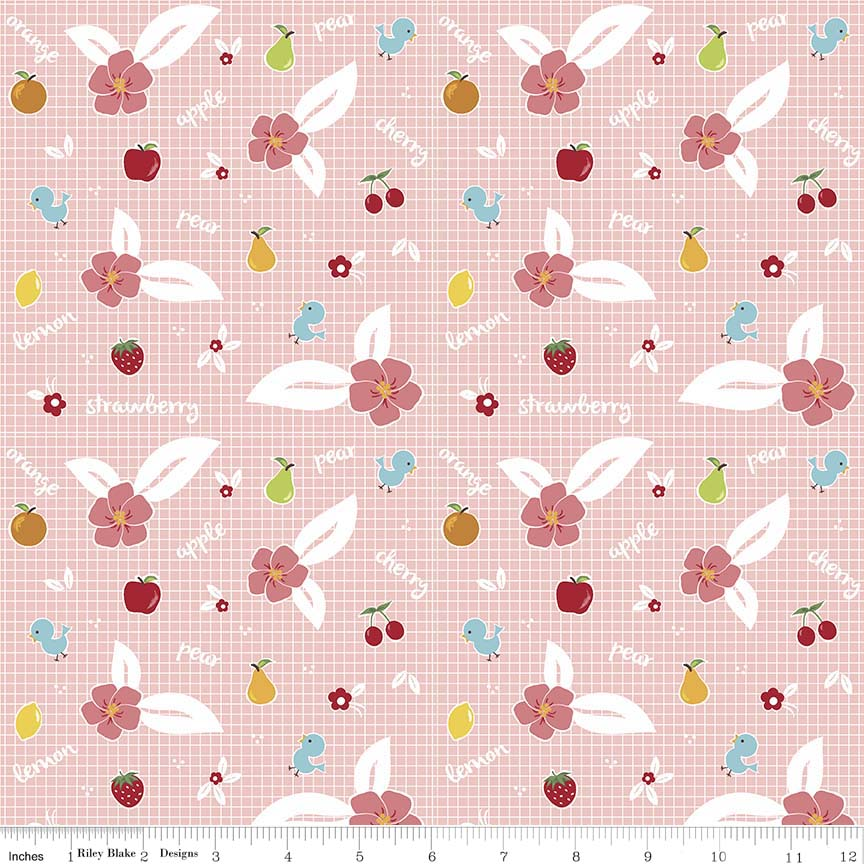 Orchard Fruit Pink