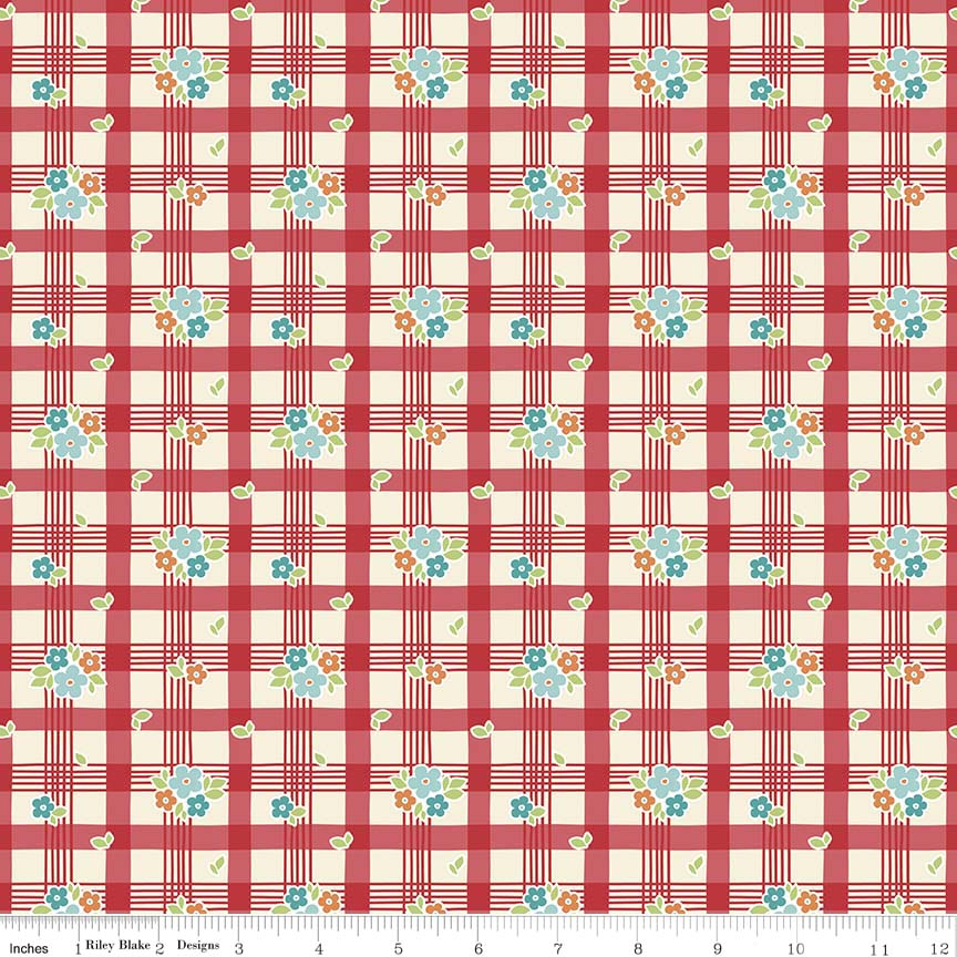 Road-Tablecloth-Red 5623