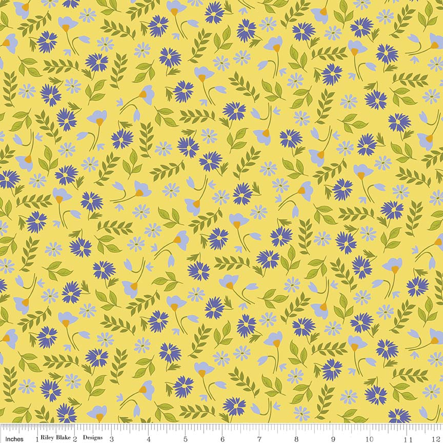 Meadow Floral Yellow