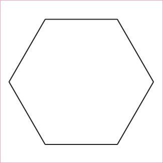 Hexagons 2 1/2 - 50 Pack