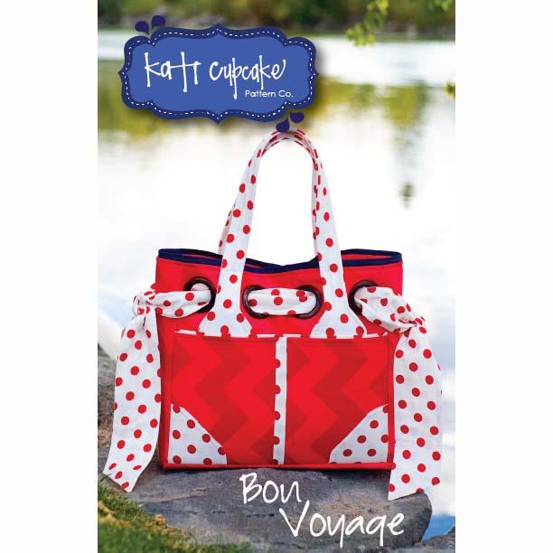 Katie Cupcake Pattern Co -  Bon Voyage