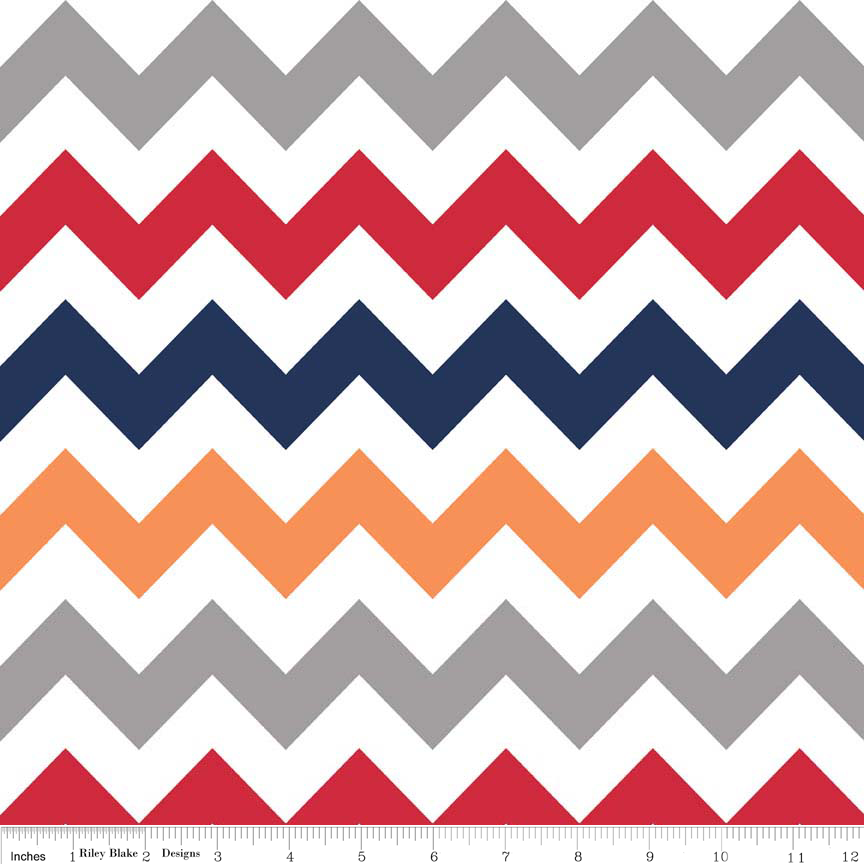 Wideback Medium Chevron Boy