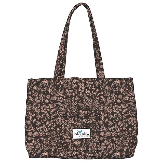 Black / Rose Gold Bag
