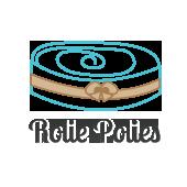 Rose Garden 2.5 Inch Rolie Polie - 40 Pcs