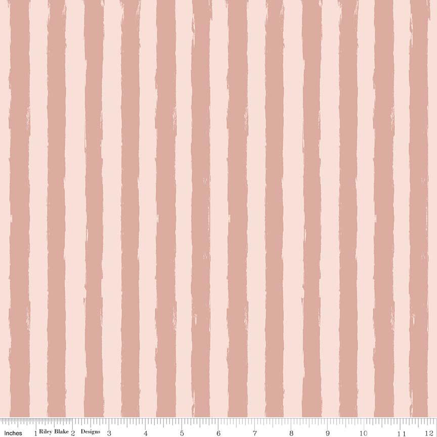 Blush Sparkle Stripe Pink SC-8015