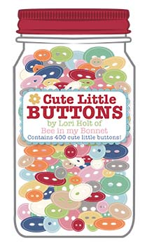 Cute Little Button Jar #1^