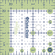 Cute Cut Ruler Square 2.5 X 2.5