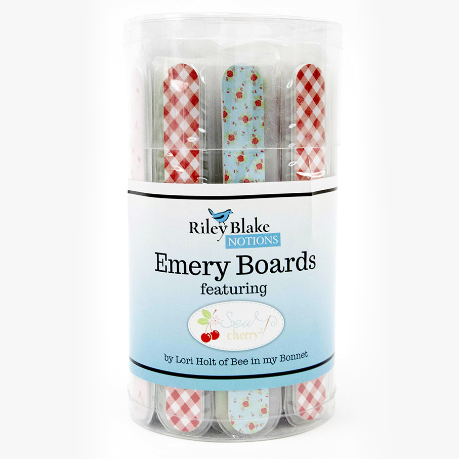 Emery Boards - Lori Holt - Tub of 48
