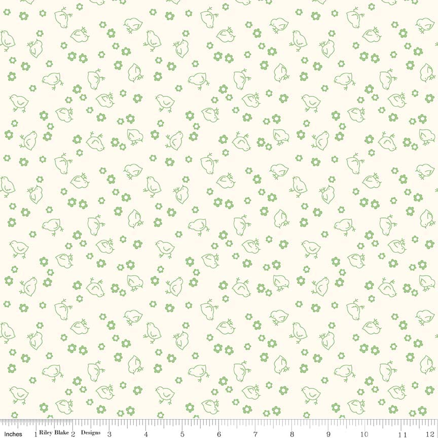 Backings 107/108 Wide Chick Green