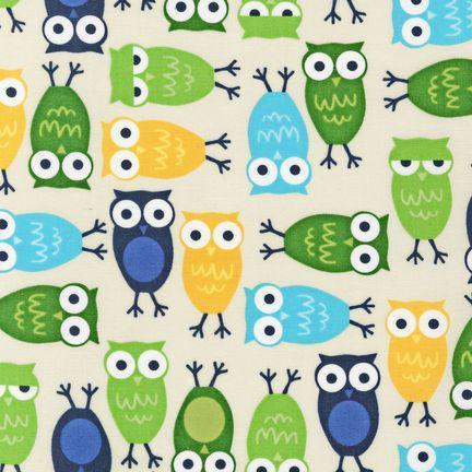 Ann Kelle Urban Zoologie BLUE 100% COTTON
