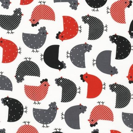 KAUF- Urban Zoologie Chickens Red