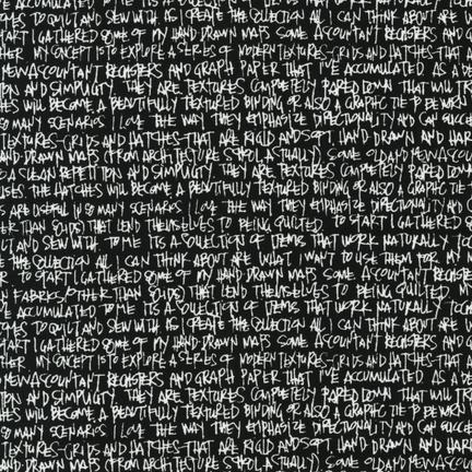108 Architextures/Black (Carolyn Friedlander)
