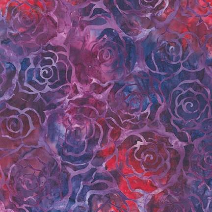 Lunn Studios Artisan Batiks: Gazebo 3 ROSE 100% COMBED COTTON