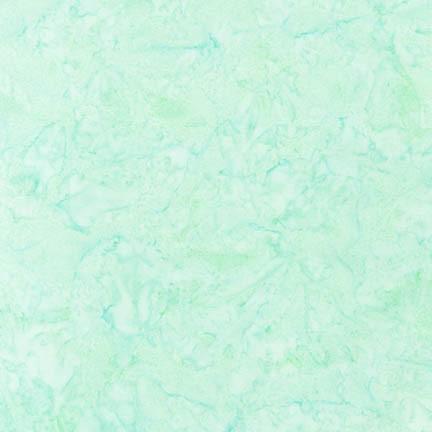 RK Lunn Studios Artisan Batiks: Prisma Dyes SEAFOAM 100% COMBED COTTON