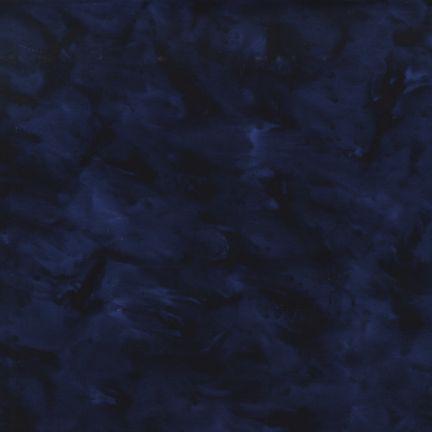Lunn Studios Artisan Batiks: Prisma Dyes NAVY 100% COMBED COTTON