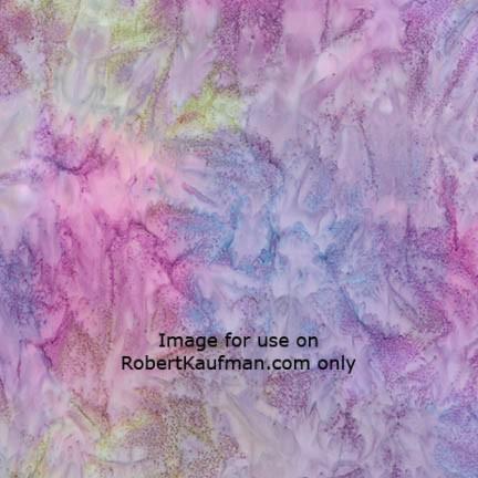 Light Lavender Mottled  Batik