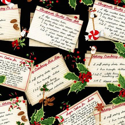 Holly Jolly Christmas 4 BLACK