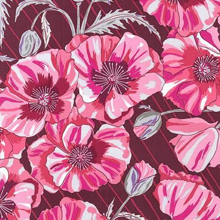 Valori Wells In The Bloom POMEGRANATE 100% COTTON