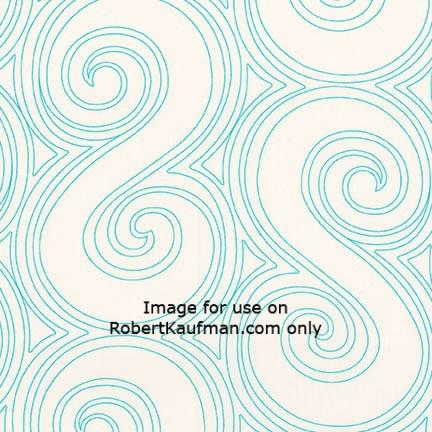 Angela Walters Drawn Wide LAGOON 100% COTTON 108 Wide Back