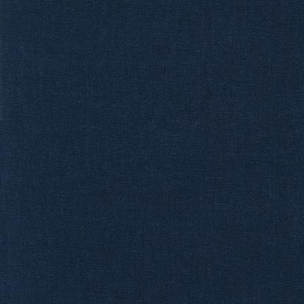 Brussels Washer navy linen/rayon