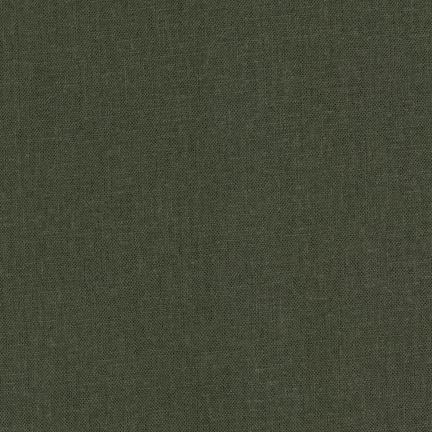 Brussels Washer Linen/Rayon - Olive Green 52