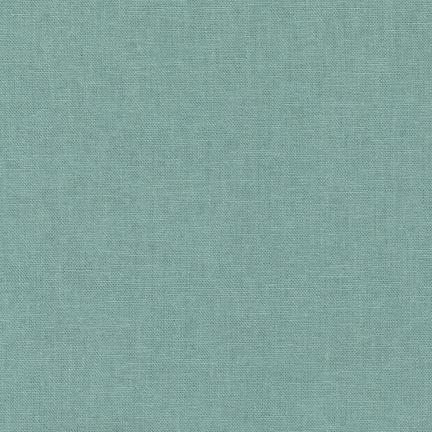 Mint Brussels Linen Washer Fabric by Robert Kaufman