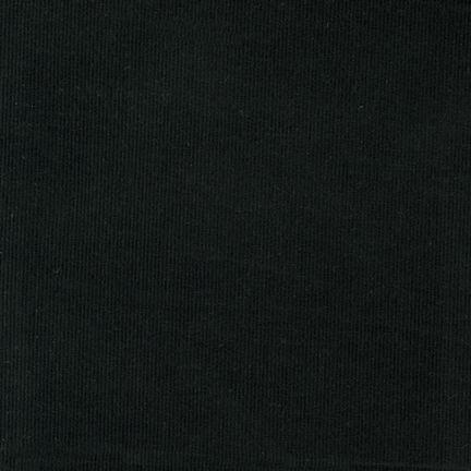Corduroy 21 Wale - Black