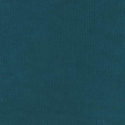 Cotton Corduroy 14 Wale in Ocean