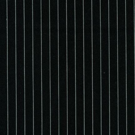 Fabric Maxima Yarn Dyed BLACK 65% POLY 35% COT