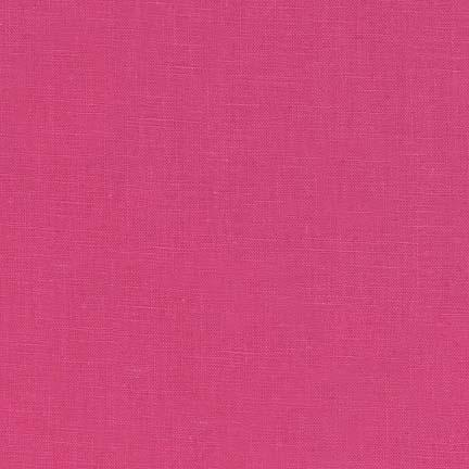 Essex HOT PINK 55% LINEN, 45% COTTON