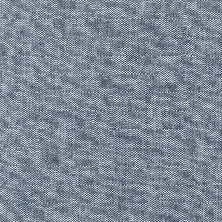Essex Yarn Dyed INDIGO 55% LINEN 45% COTTON