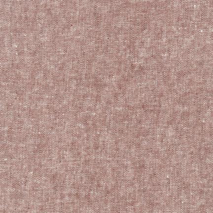 Essex Yarn Dyed RUST 55% LINEN 45% COTTON