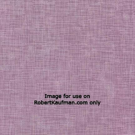 Robert Kaufman - Quilter's Linen ORCHID 100% COTTON