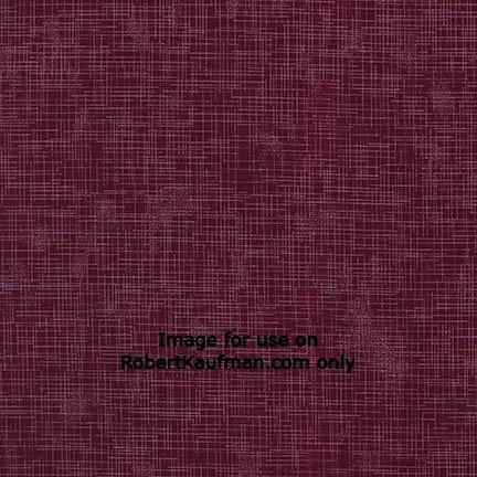 Quilter's Linen WINE 100% COTTON