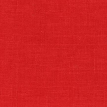 Quilter's Linen RED 100% COTTON