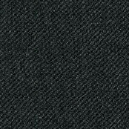 Indigo Denim 56 6.5oz - Black Washed