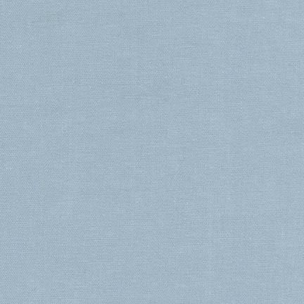 Robert Kaufman 6.5 oz Washed Cotton Denim - Bleached Indigo 56
