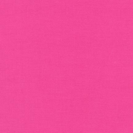 Bright Pink - Kona Cotton