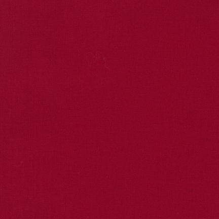 Kona Cotton RICH RED Wide Backing Fabric 100% COTTON 108