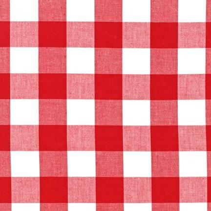 Carolina Gingham 1   P-9811-3 Red & White