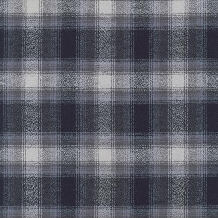 Mammoth Flannel GREY 100% COTTON