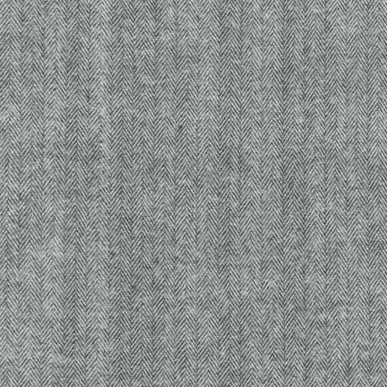 Shetland Flannel GREY 100% COTTON