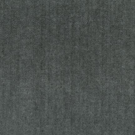 Shetland Flannel in Jet from Robert Kaufman