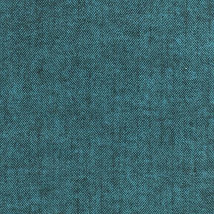 Shetland Flannel OCEAN 100% COTTON