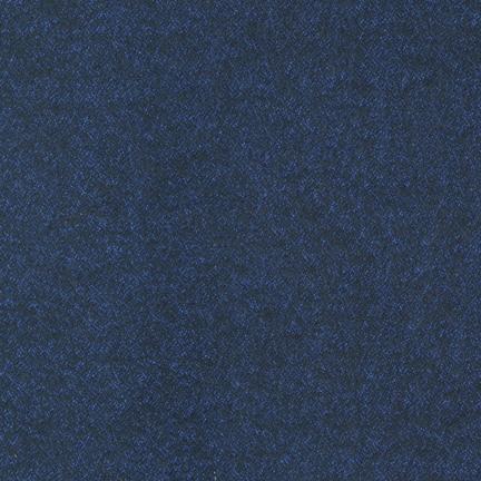 Flannel - Shetland Navy Tweed