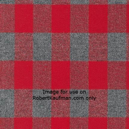 Mammoth Flannel RED Check
